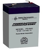 4/6 Volt Lead-Acid Batteries